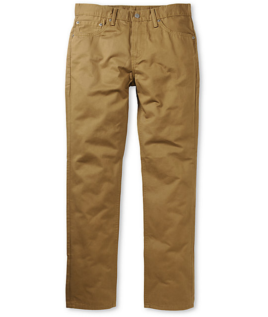 Levis 511 Twill Cougar Rinse Jeans
