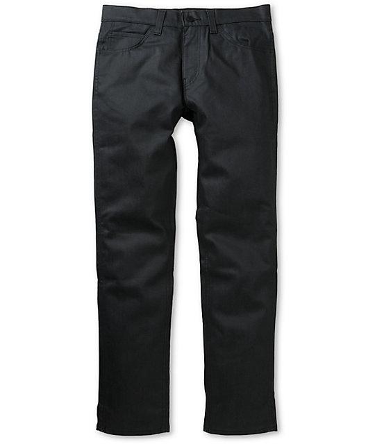 Levis 511 Zaha Denim Waxed Black Skinny Jeans