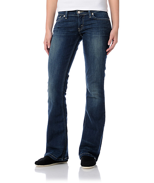 Levis 524 Too Superlow Meadow Bootcut Jeans
