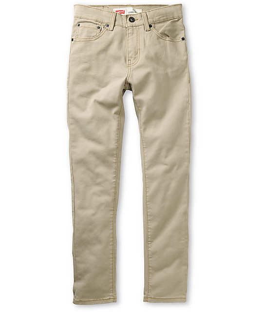 Skinny Khaki Pants For Boys