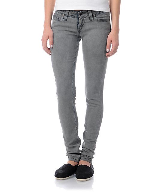 Levis Curve ID Demi Curve Stormy Skies Grey Skinny Jeans
