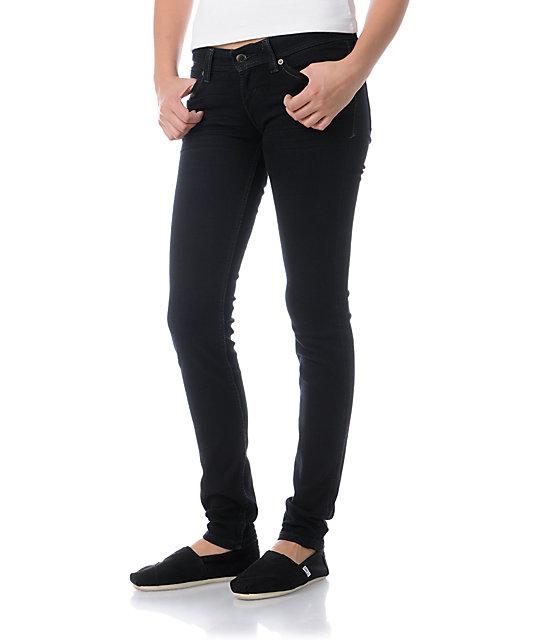 Levis Demi Curve Onyx Black Skinny Jeans