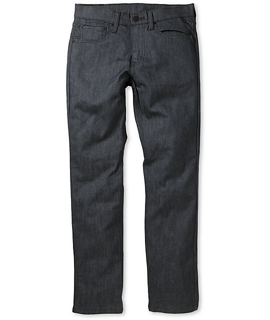 Levis Mens 511 Rigid Grey Skinny Jeans