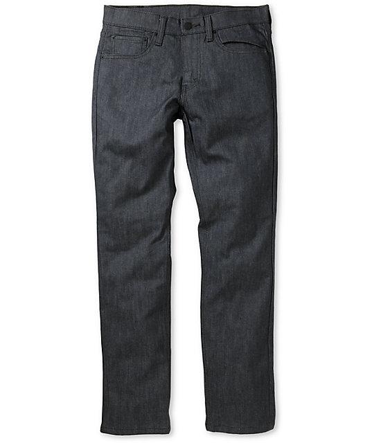 Levis Mens 511 Rigid Grey Skinny Jeans