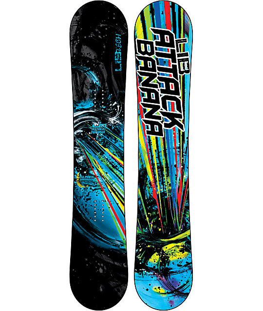 Lib Tech Attack Banana EC2 BTX 161cm Wide Snowboard