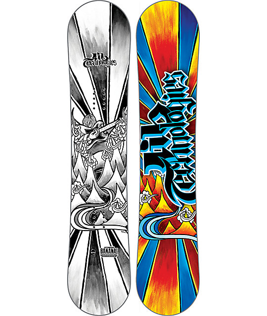 Lib Tech Banana Blaster BTX 140cm Youth Snowboard