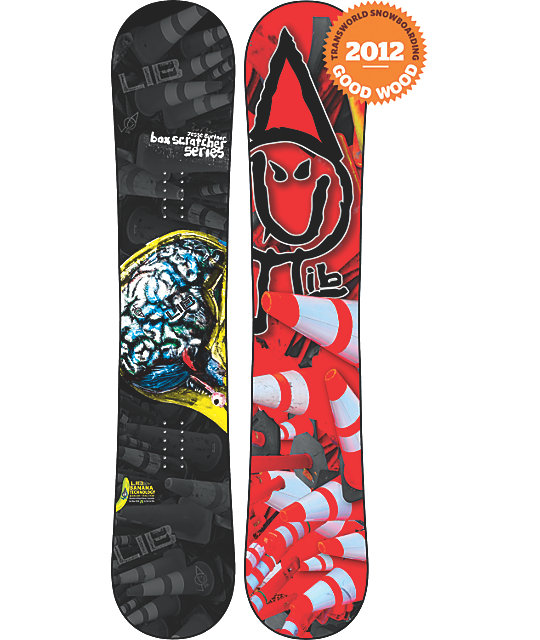 Lib Tech Box Scratcher BTX 154cm BurtnerMens Snowboard