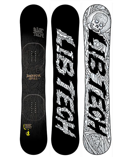 Lib Tech Darker Series C3 BTX 164cm Wide Snowboard