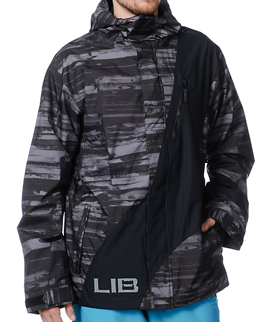 Lib Tech Recycler Black 10K Snowboard Jacket
