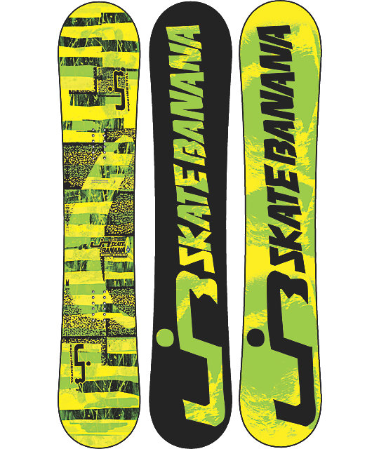 Lib Tech Skate Banana BTX 153cm Wide Mens Snowboard