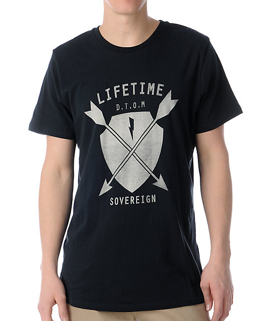 Lifetime Collective Arrow Black T-Shirt