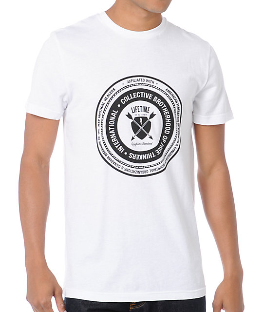 Lifetime Collective Brotherhood White T-Shirt