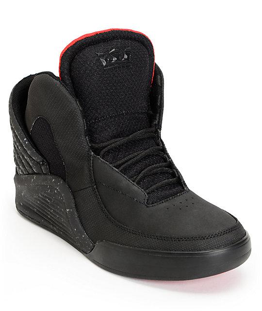 Lil Wayne x Supra SPECTRE Chimera Black Satin TUF Shoes