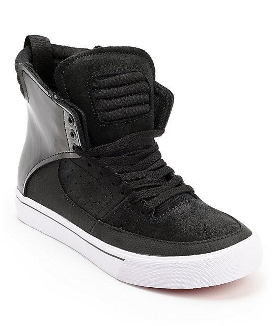 Lil Wayne x Supra SPECTRE Kondor Black Wax Suede Shoes