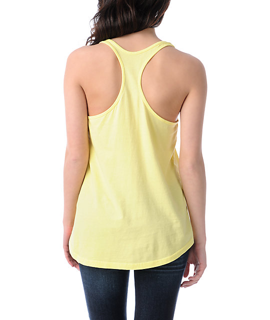 Lira Bolt Yellow Tank Top