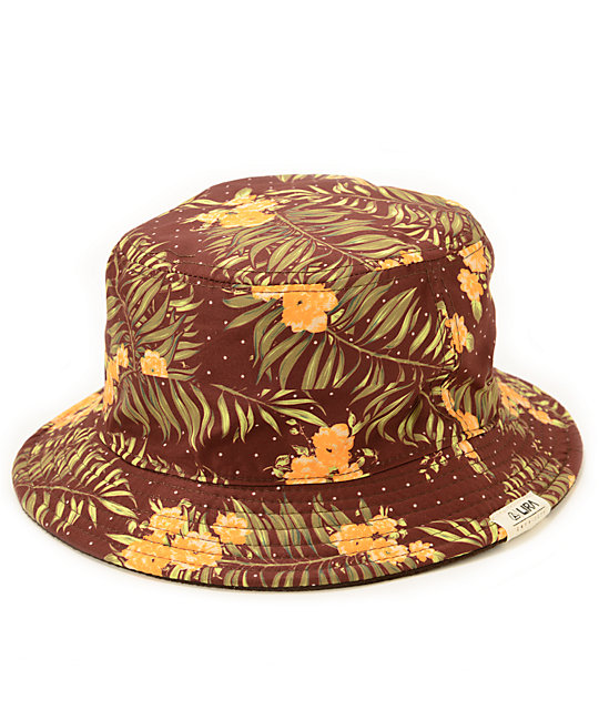 Lira Fashion Floral Bucket Hat