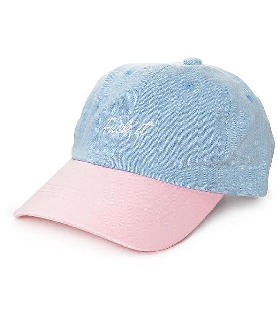 Local Heroes Fuck It Snapback Baseball Hat
