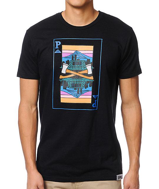 Local Legends Bridgetown Black T-Shirt