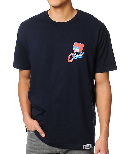 Local Legends Cub Love Dark Blue T-Shirt