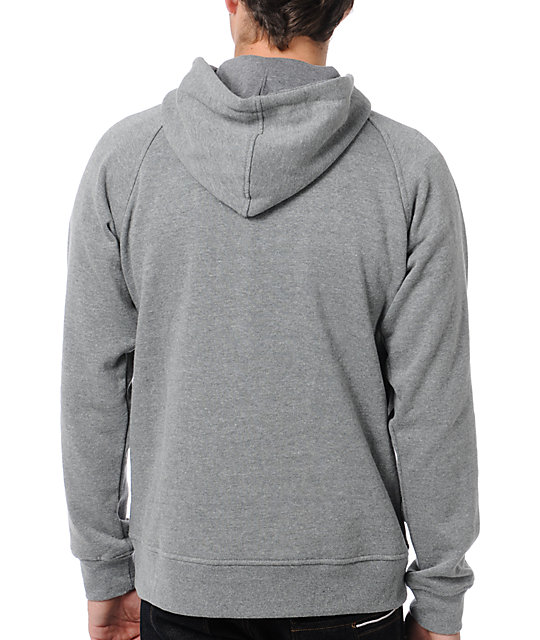 Local Legends Deep Roots Heather Grey Pullover Hoodie