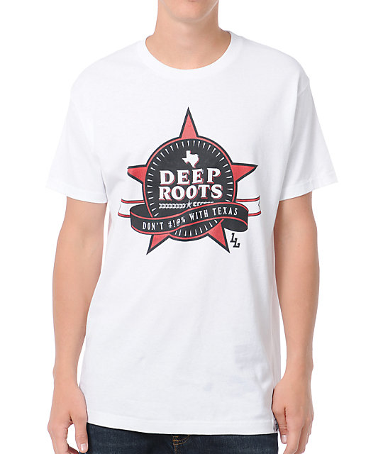 Local Legends Deep Roots White T-Shirt