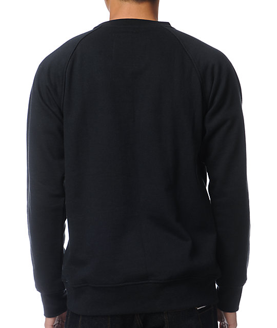 Local Legends Fresh To Death Black Crew Neck Sweatshirt