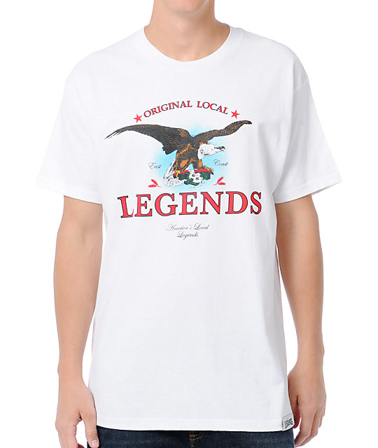 Local Legends Original Local White T-Shirt