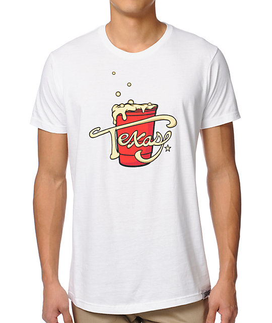 Local Legends Texas Tea White T-Shirt