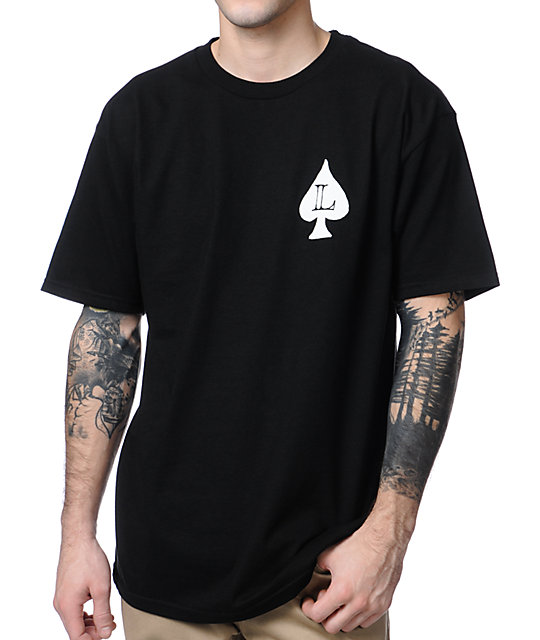 Loser Machine Aces High Black T-Shirt