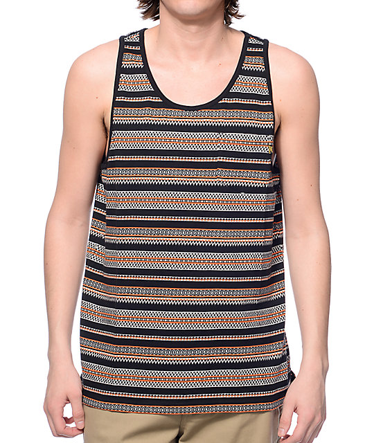 Loser Machine Baja Black Pocket Tank Top