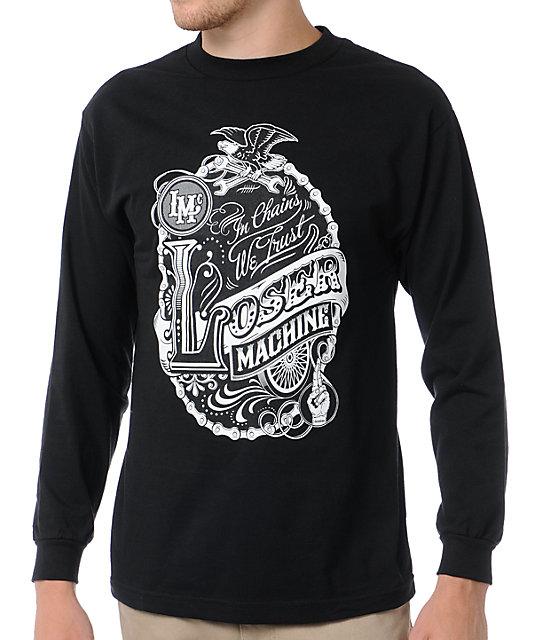 Loser Machine Big Top Black Long Sleeve T-Shirt