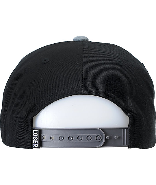 Loser Machine Box Logo Pro Black Snapback Hat