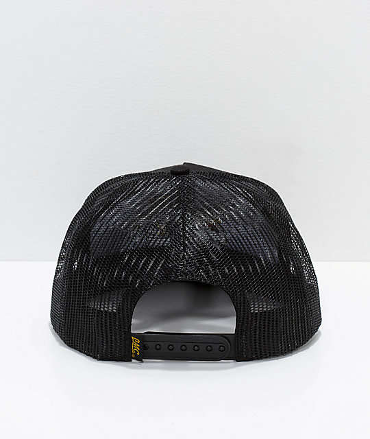 Loser Machine Co. Elswick Black Mesh Trucker Hat