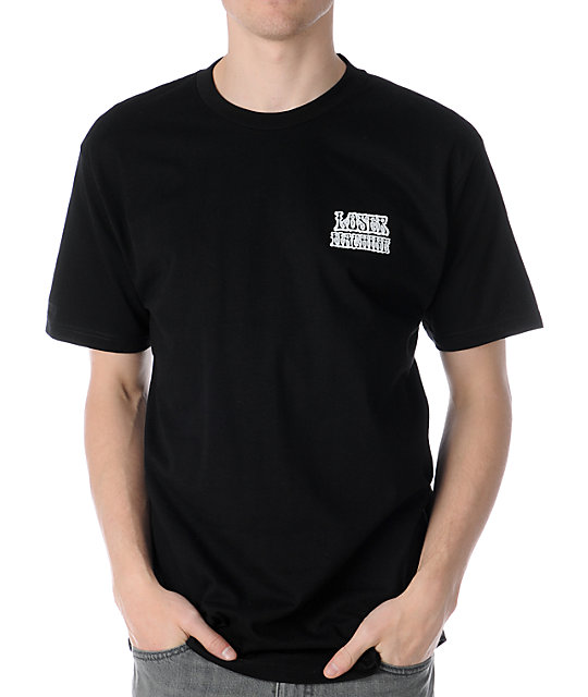 Loser Machine Dazed Black T-Shirt