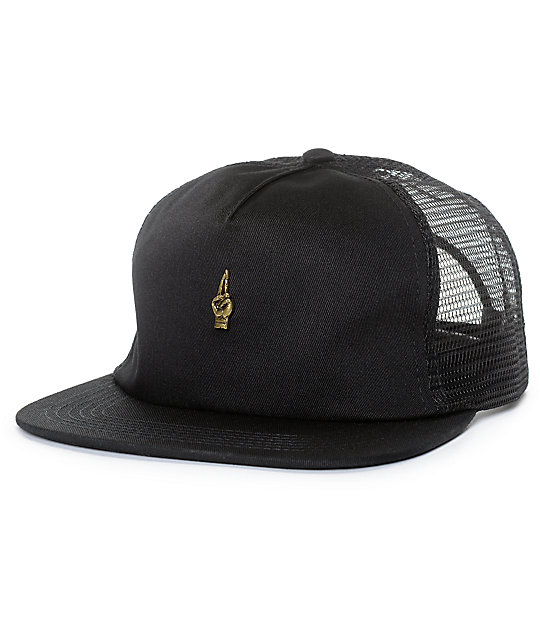 Loser Machine Glide Black Mesh Snapback Hat