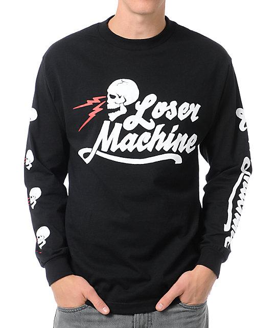 Loser Machine Mind Bender Black Long Sleeve T-Shirt