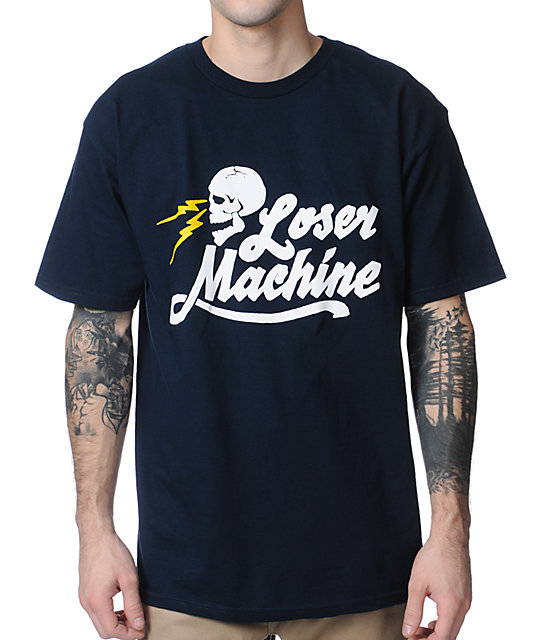 Loser Machine Mind Bender Navy T-Shirt