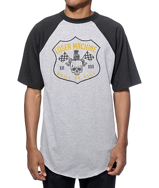 Loser Machine Speed Demon Short Sleeve Baseball T-Shirt