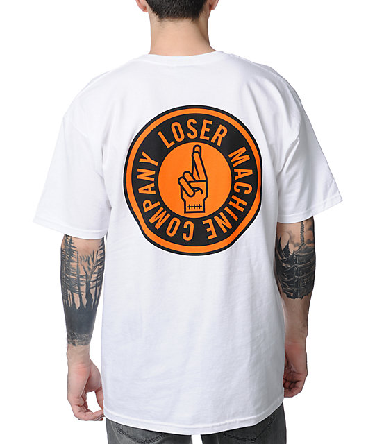 Loser Machine Sui Circle White T-Shirt