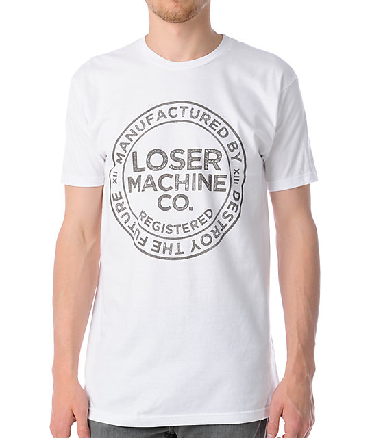 Loser Machine The Loser Union White T-Shirt