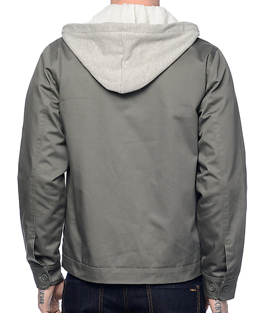 Loser Machine Tumbleweed Hooded Grey Jacket