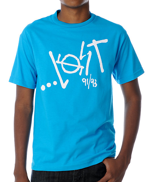 Lost BR Turquoise T-Shirt