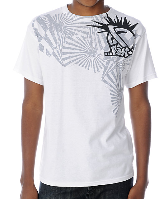 Lost Blaster White T-Shirt
