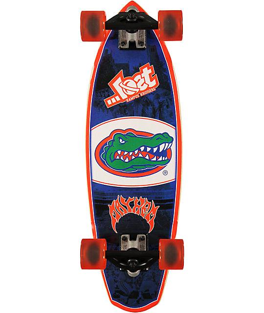 "Lost Florida Gators Rocket Mini 28""  Cruiser Complete Skateboard"