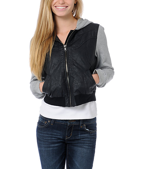 Lost Forest Black Crinkle Jacket