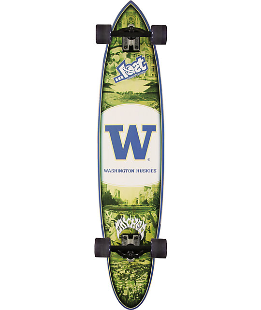 "Lost Washington Huskies Minigun 40""  Longboard Complete"