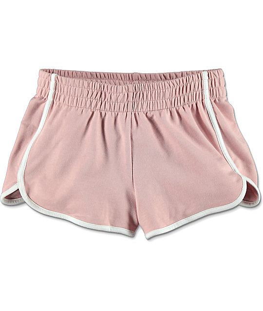 Love, Fire Light Pink Dolphin Shorts
