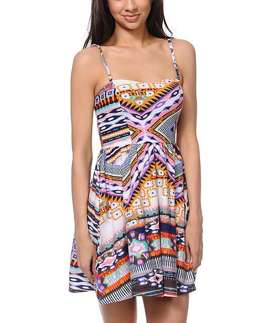Love, Fire Tribal Dress
