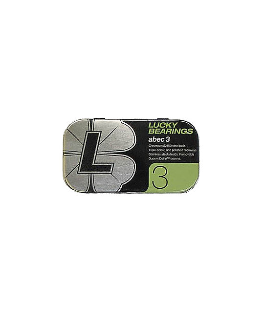 Lucky Abec 3 Skateboard Bearings