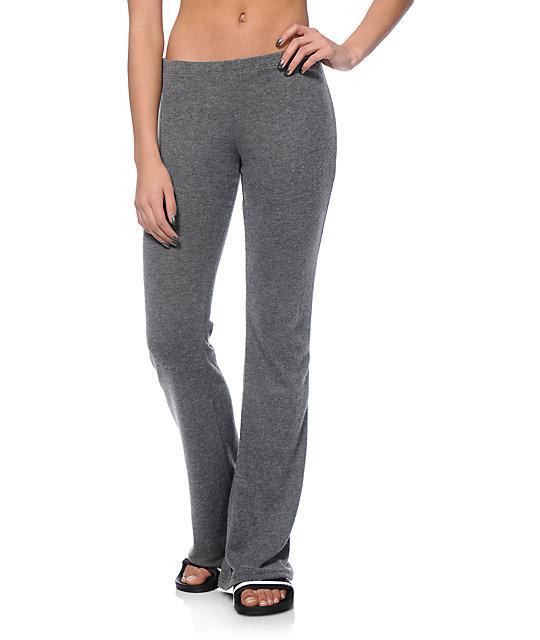 Lunachix Randi Charcoal Sweater Lounge Pants